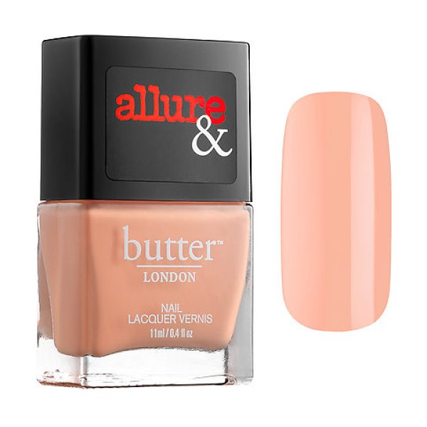 BUTTER LONDON allure &  introduce the arm candy nail lacquer collection nude stilettos 0.4 oz/ 11 ml - A nail polish collaboration between Allure and butter...