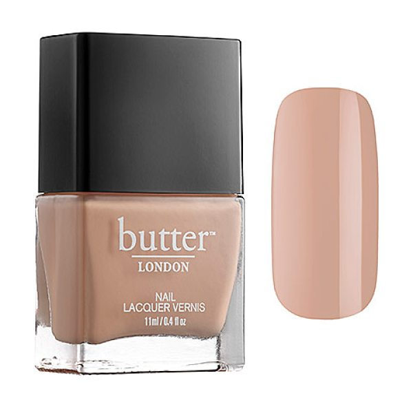 Butter London nail lacquer high tea - A heavily pigmented, high-fashion nail polish. Created...
