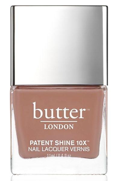 Butter London 'patent shine 10x' nail lacquer in tea time - Fierce color sparks a revolution with butter LONDON...