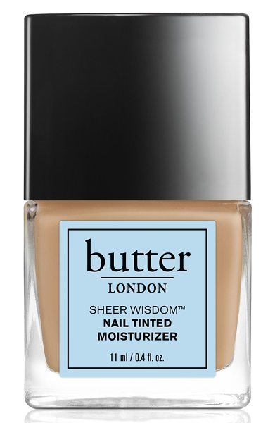 Butter London 'sheer wisdom(tm)' nail tinted moisturizer in neutral - This all-in-one tinted moisturizing treatment protects...