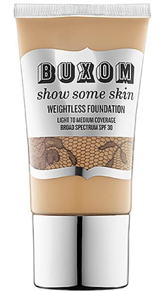 Buxom show some skin weightless foundation youre a natural - A featherweight foundation that combines the benefits of...