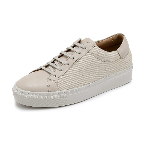 By Malene Birger Ceally sneakers in cream - Canvas By Malene Birger sneakers in a classic low top...