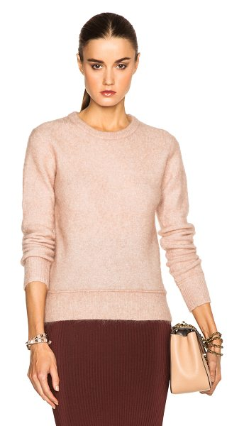 By Malene Birger Giant sweater in pink - 34% wool 34% kid mohair 27% polyamide 5% elastan.  Made...