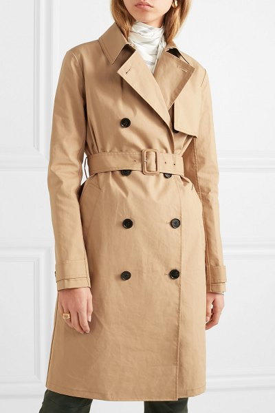 By Malene Birger rainie cotton-gabardine trench coat in beige - Trench coats still remain one of the most timeless...