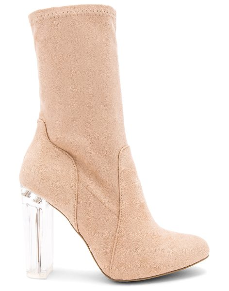 by the way. Alexa Bootie in nude - Man made upper and sole. Side zip closure. Heel measures...