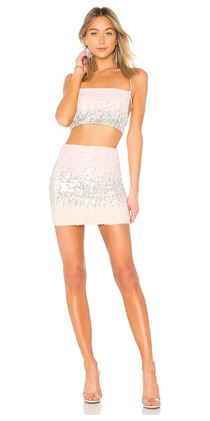 by the way. aubree sequin set in pink multi