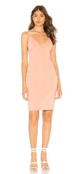 by the way. Erica Midi Dress in blush - Self: 100% polyLining: 97% poly 3% elastane. Hand wash...