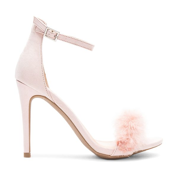 "by the way. Jessa Heel in blush - ""Man made upper and sole. Ankle strap with buckle..."