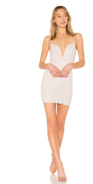 by the way. Mariah Lace Mini Dress in pink - 60% cotton 40% nylon. Hand wash cold. Fully lined....