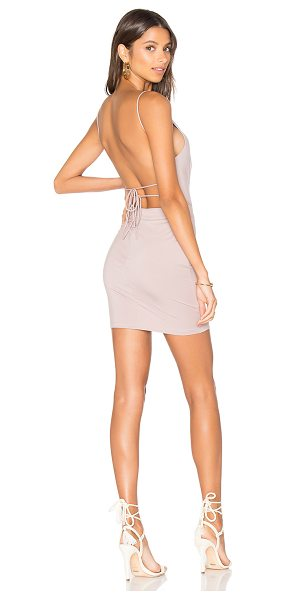 by the way. Solange Mini Dress in pink - 46% modal 46% cotton 8% spandex. Hand wash cold....