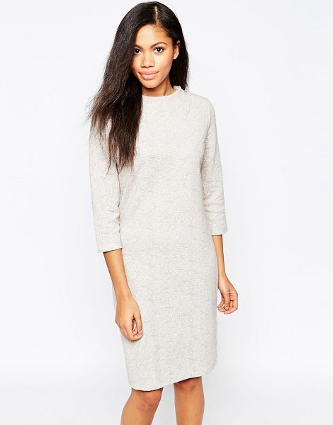 B.YOUNG 3/4 Sleeve Sweater Dress - Casual dress by b.Young, Mid-weight knit, Turtle...