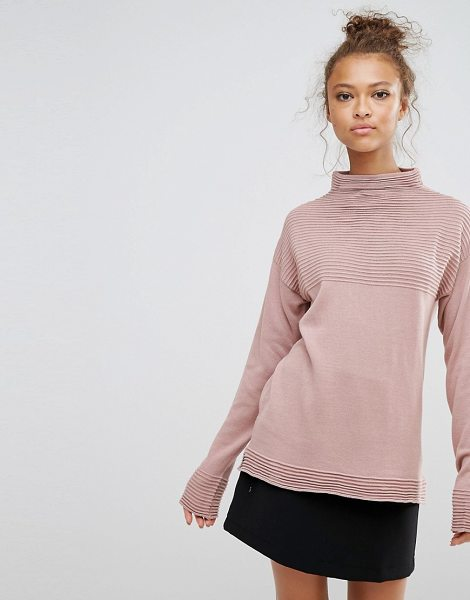 B.young B.Young High Neck Top in pink