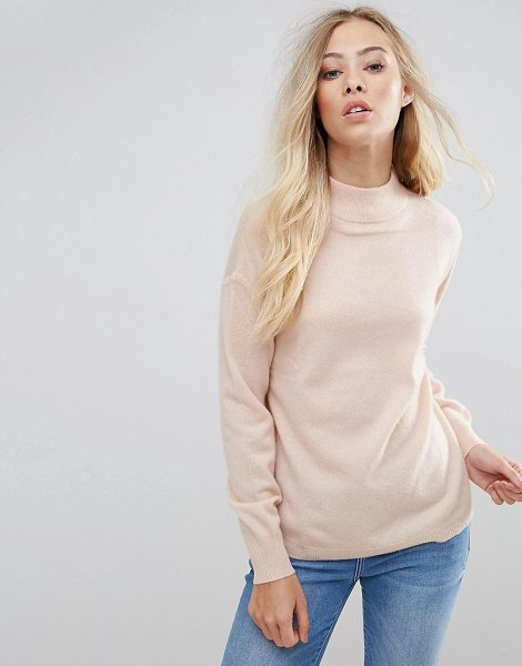 B.YOUNG Cashmere Mix Sweater - Sweater by b.Young, Soft cashmere-mix knit, High neck,...