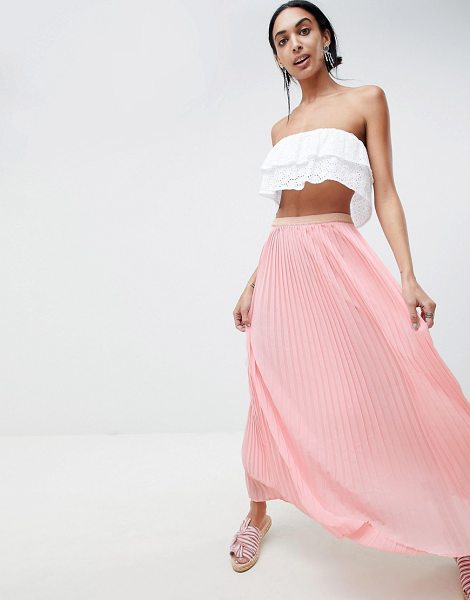 B.young maxi skirt in rosepearl - Skirt by b.Young, This is a bit of you, Elasticated...