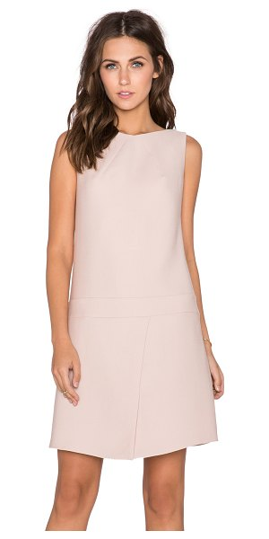 Cacharel Flared mini dress in blush - Cotton blend. Dry clean only. Fully lined. Side seam...