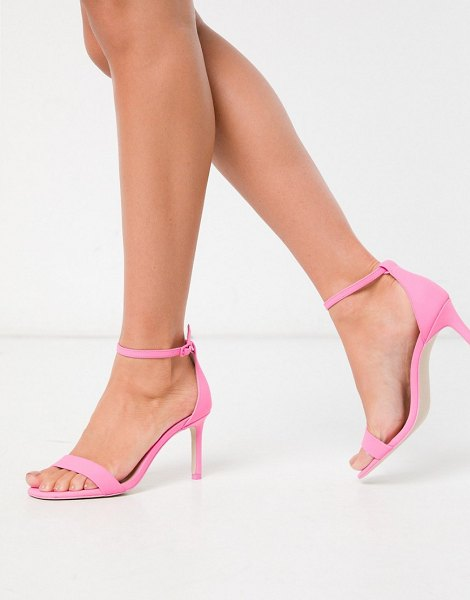 Call It Spring by aldo ella ankle strap sandals in bright pink in pink