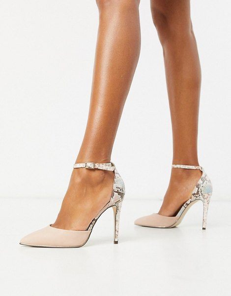 Call It Spring by aldo iconis heeled pumps with ankle strap in pink in pink