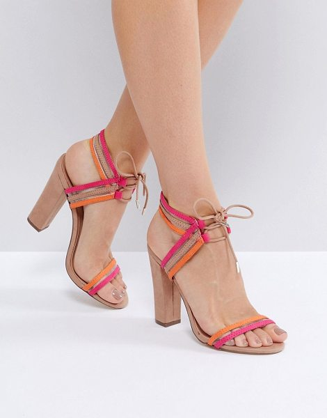Call It Spring Call It Spring Astoressi Brown Block Heeled Sandals in brown