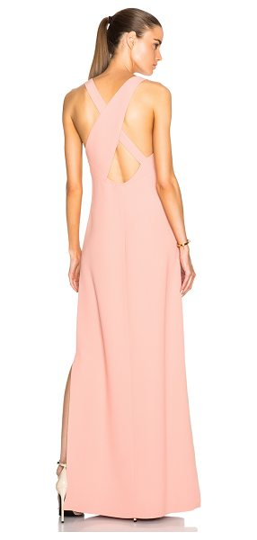 Calvin Klein Collection Dona gown in pink - 55% viscose 45% acetate.  Made in Italy.  Partially...