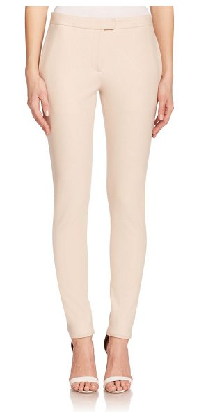 Calvin Klein Collection Tyrese felted wool jersey pants in ecru - Felted wool jersey lends subtle, plush texture to these...