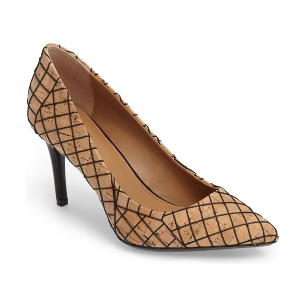 CALVIN KLEIN 'gayle' pointy toe pump - The essential pointy-toe pump is primed to go from...