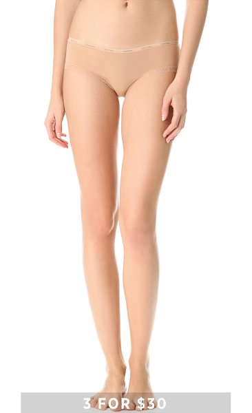Calvin Klein Underwear bottoms up hipster briefs in buff - Special value! 1 for $12 or 3 for $30. These jersey...