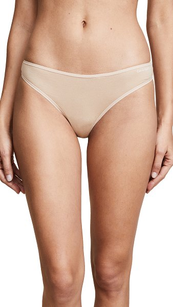 Calvin Klein Underwear form thong in bare