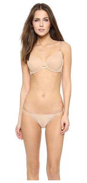 CALVIN KLEIN UNDERWEAR invisibles full coverage contour bra - A Calvin Klein Underwear soft bra has laser-cut edges...