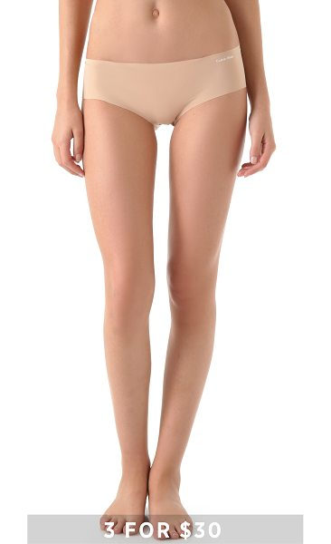 Calvin Klein Underwear Calvin Klein Underwear Invisibles Hipster in light caramel - Special value! 1 for $12 or 3 for $30. These seamless...