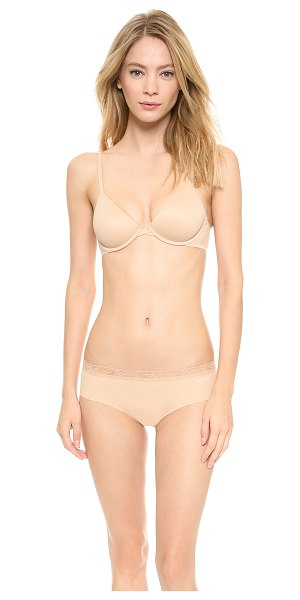 CALVIN KLEIN UNDERWEAR perfectly fit bare underwire bra - This soft-cup underwire bra is rendered in smooth...