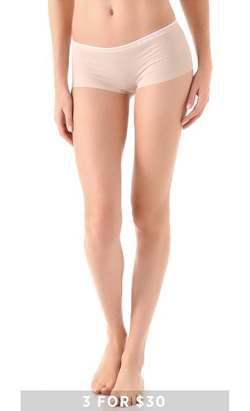 Calvin Klein Underwear Seamless hipster in almond - Special value! 1 for $12 or 3 for $30. Invisible under...