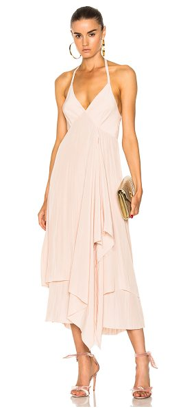 Calvin Rucker for FWRD Fly Away Dress in pink - Calvin Rucker is the eponymous label from the...