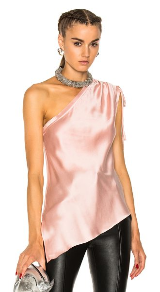 Calvin Rucker for FWRD One Love Top in pink - Calvin Rucker is the eponymous label from the...