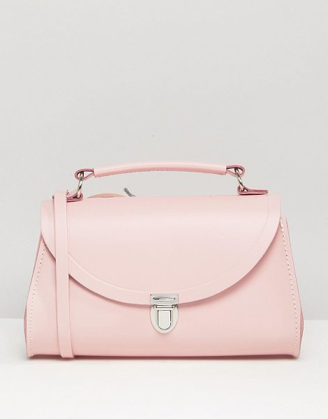 Cambridge Satchel The  mini poppy cross body bag in pink - Cart by Cambridge Satchel Company, Handmade in the UK,...