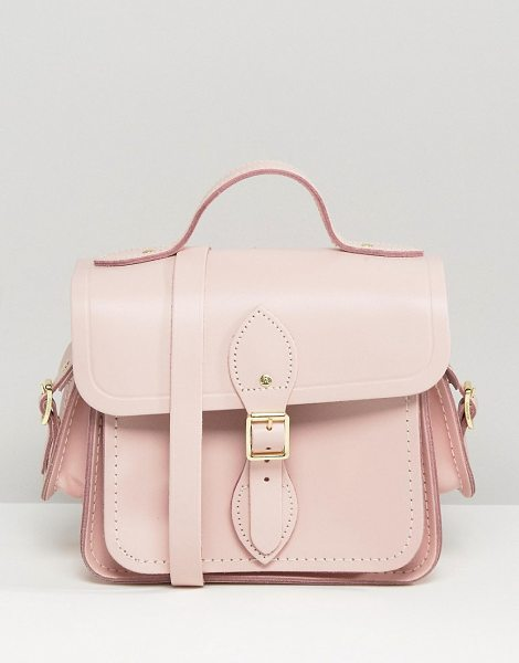 Cambridge Satchel The  traveler cross body bag in pink - Cart by Cambridge Satchel Company, Handmade in the UK,...