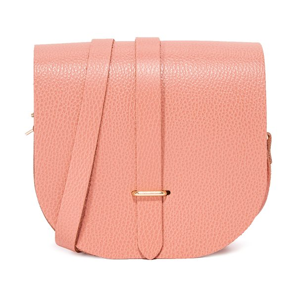 Cambridge Satchel saddle bag in terracotta grain - This scaled-down Cambridge Satchel saddle bag is crafted...