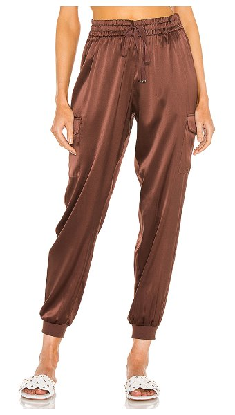 CAMI NYC elsie jogger in chocolate