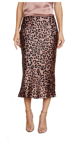 CAMI NYC jessica skirt in leopard