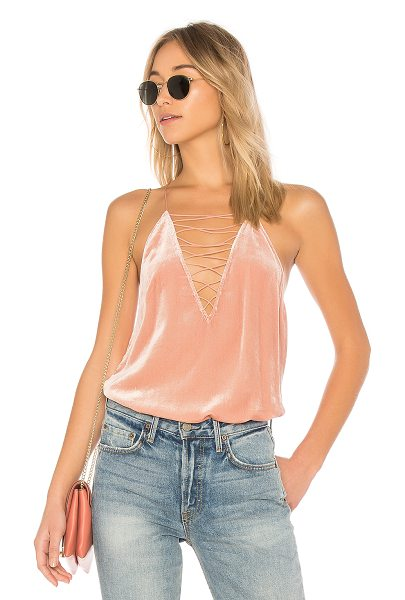 CAMI NYC The Camilla Cami - Self: 82% viscose 18% silkContrast: 100% silk. Dry clean...