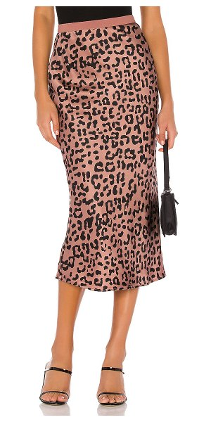 CAMI NYC the jessica skirt in graphic leopard