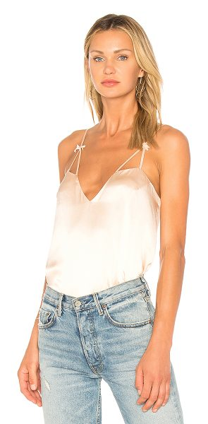 CAMI NYC The Lucy Cami in blush - Self: 100% silkLining: 100% poly. Dry clean only....