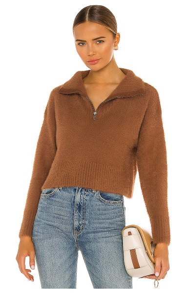 Camila Coelho jaelyn pullover in toffee