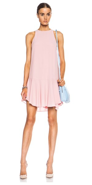 Camilla And Marc Meadowlark poly dress in pink - 100% poly.  Made in China.  Fully lined.  Hidden back...