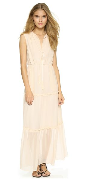 Candela Charming dress in blush - A delicate Candela dress with ruffled seams at the full...