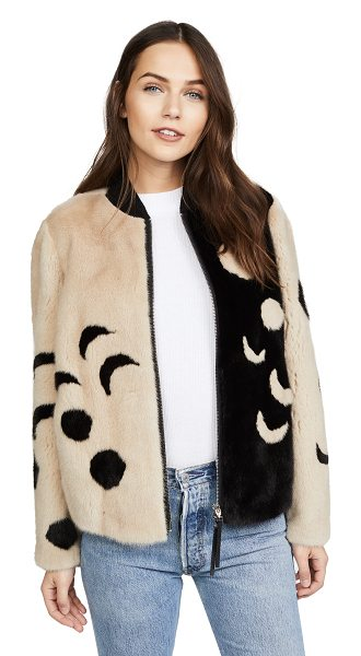 CARA MILA luna bomber jacket - This luxe CARA MILA bomber jacket is crafted from...