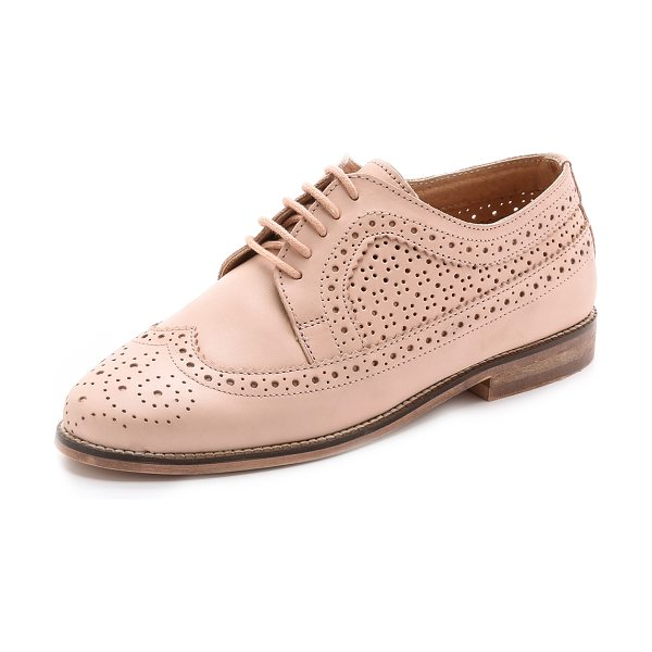 Carvela Kurt Geiger Lad oxfords in nude - Menswear inspired Carvela Kurt Geiger oxfords feel...