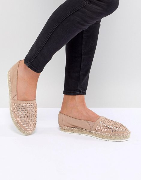 Carvela Kurt Geiger mast leather espadrilles in nude - Shoes by Carvela, Give your sneakers a day off, Slip-on...