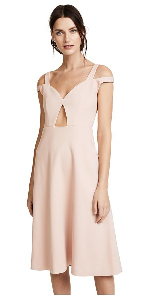 CARVEN cold shoulder dress - This elegant Carven cocktail dress is updated with a...