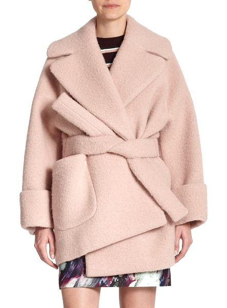 CARVEN Oversized manteau coat - Inspired by vintage silhouettes, this manteau coat is...