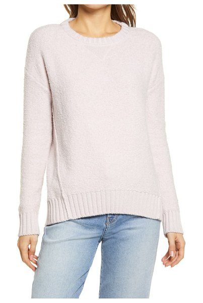 Caslon calson cozy pullover sweater in pink